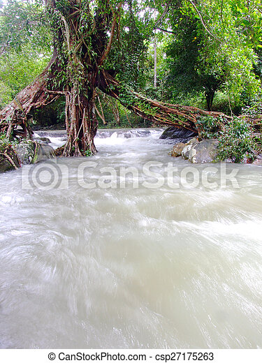 thaiföld, vízesés - csp27175263