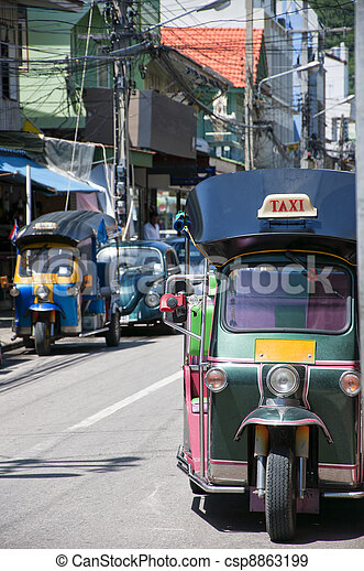 Thai Tuck Tuck - csp8863199