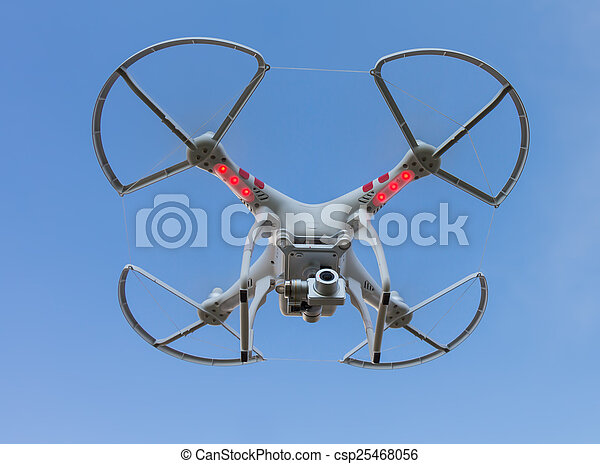 THAILAND UDONTHANI - Dec 24 , 2014 : Drone flying helicopter wit - csp25468056