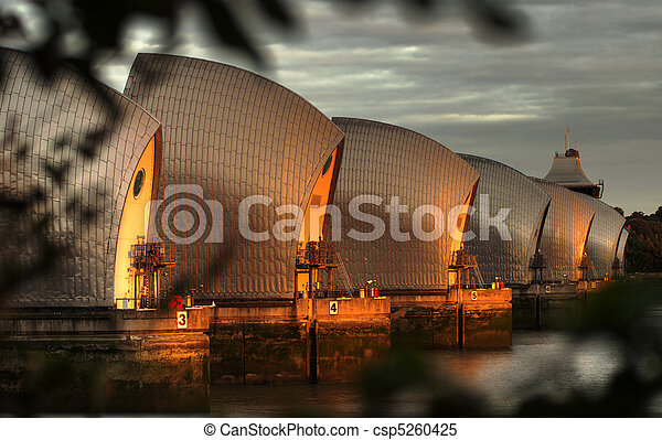 Thames Barrier - csp5260425
