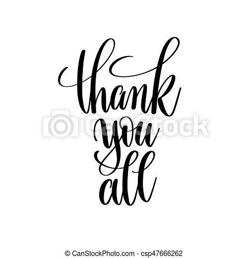 Thank You All Clipart Vector And Illustration 282 Thank You All