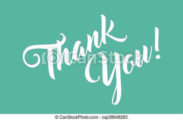 Thank You - csp38648263