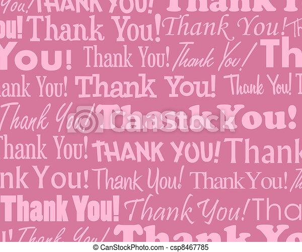 Thank You  - csp8467785