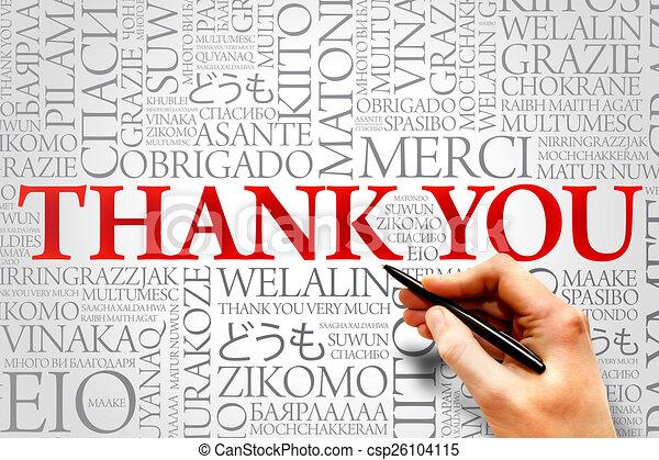 Thank You - csp26104115