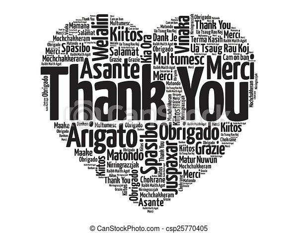 Thank You - csp25770405