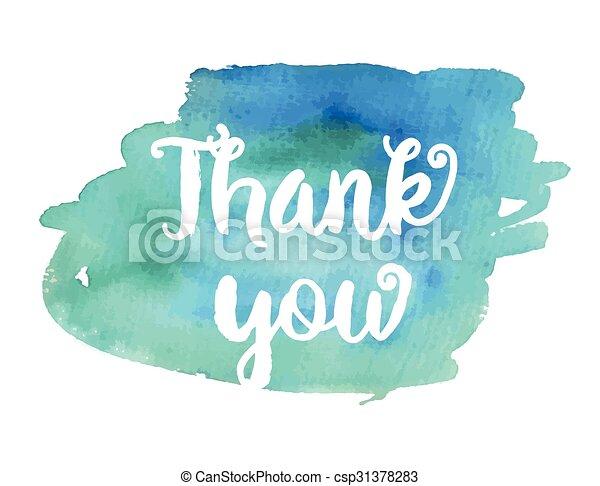 Thank you. - csp31378283