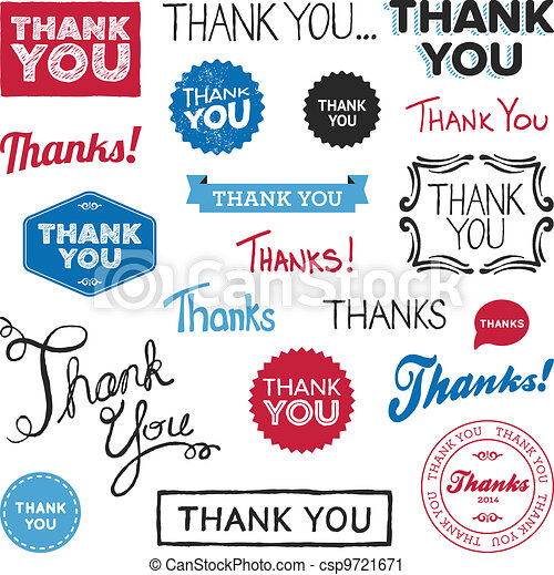 Thank you graphics - csp9721671