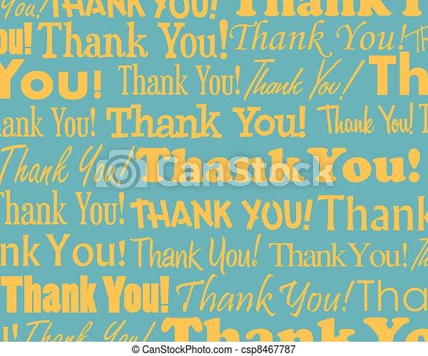 Thank You  - csp8467787