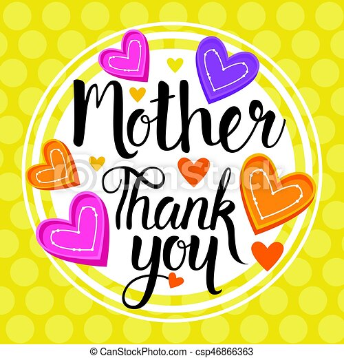thank you mom happy mother day spring holiday greeting clip art rh canstockphoto com happy mothers day clip art free happy mother's day clip art to download