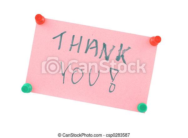 Thank You - csp0283587