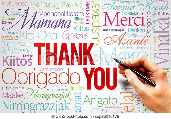 Thank You - csp26210179