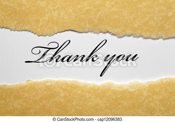 Thank you - csp12096383