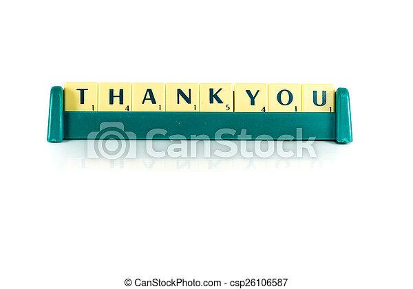 thank you - csp26106587