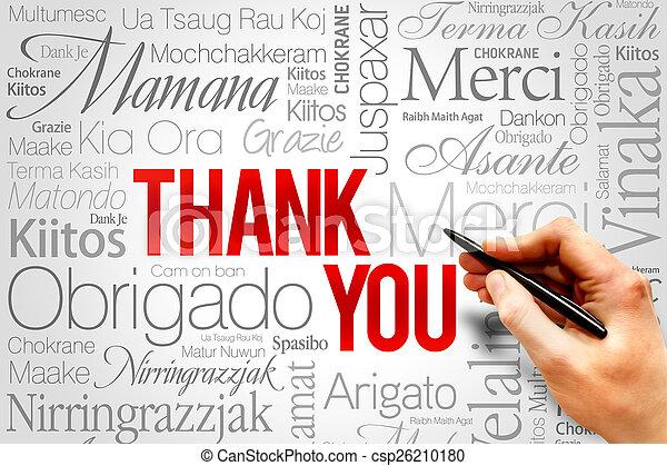 Thank You - csp26210180