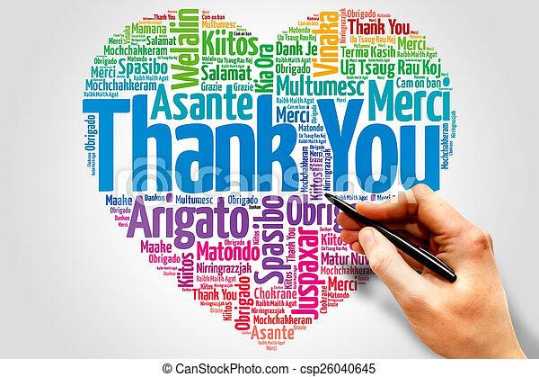 Thank You - csp26040645