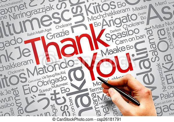 Thank You - csp26181791