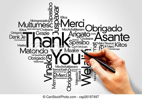 Thank You - csp26197497