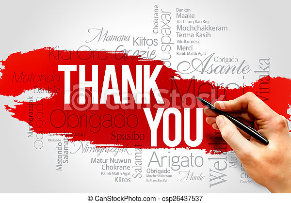 Thank You - csp26437537