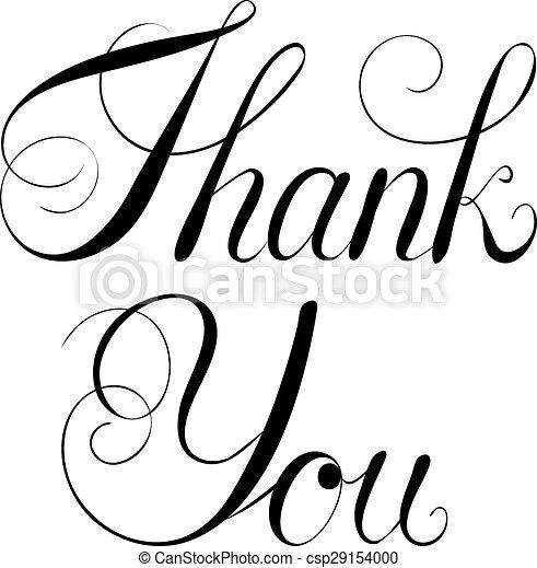 Thank You - csp29154000