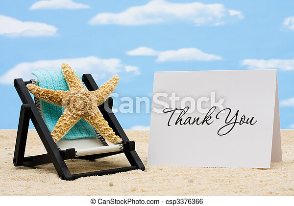 Thankful for Vacation Time - csp3376366