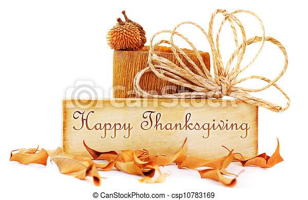 Thanksgiving card - csp10783169