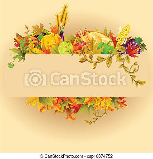 Thanksgiving Celebration - csp10874752