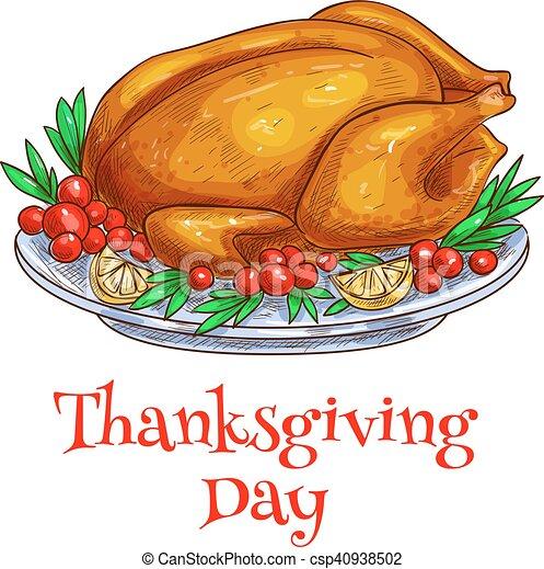 Thanksgiving Dinner Roasted Turkey Element Thanksgiving Roasted