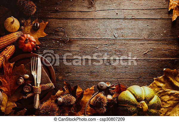 Thanksgiving dinner - csp30807209