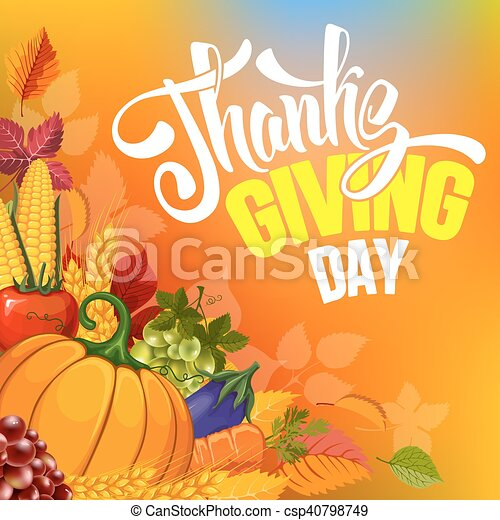 Thanksgiving - csp40798749