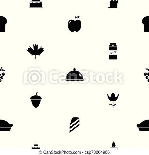 thanksgiving seamless pattern background icon. - csp73204986