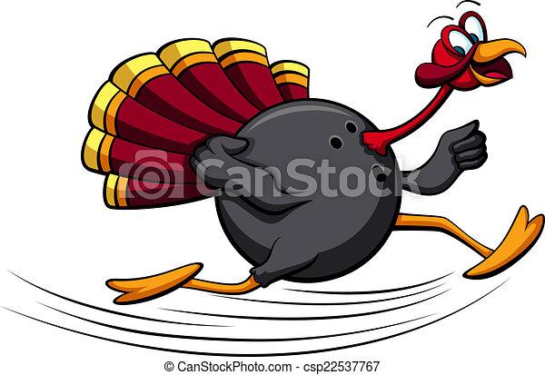 thanksgiving turkey bowling illustration of a turkey clip art rh canstockphoto com free clip art turkey picture free clipart turkey cartoon