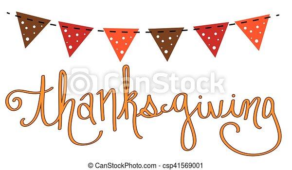 Thanksgiving - csp41569001