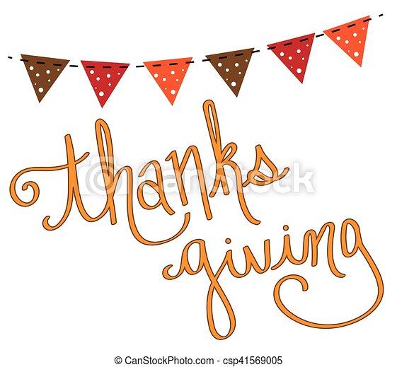 Thanksgiving - csp41569005