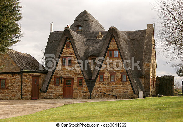 Thatch and Stone - csp0044363