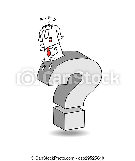that's the question Karen - csp29525640