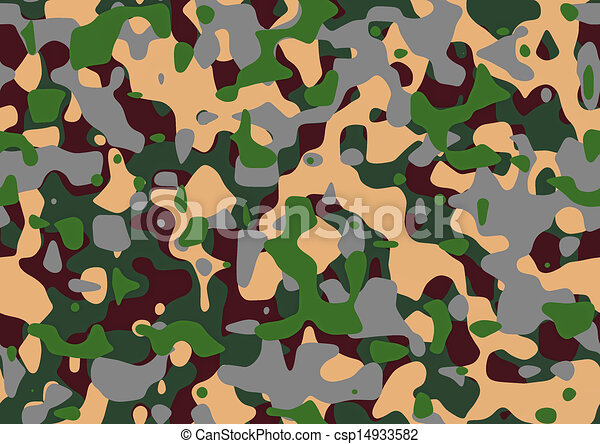 Line Art Uniform : The abstract pattern of camouflage for army uniform stock