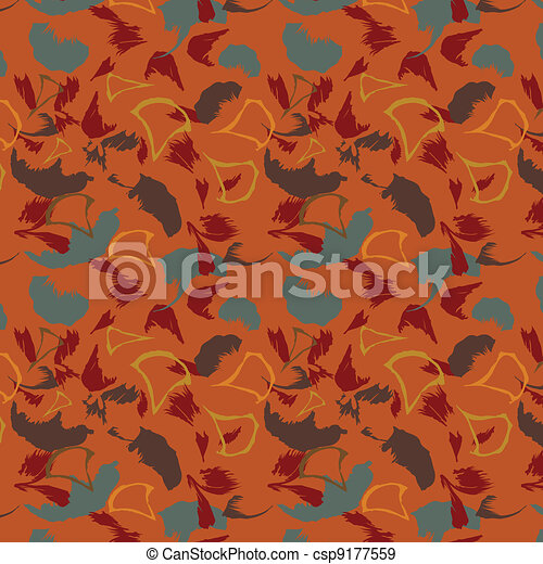 The Abstract seamless background. - csp9177559