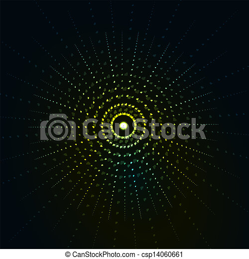 The abstract sun background - csp14060661