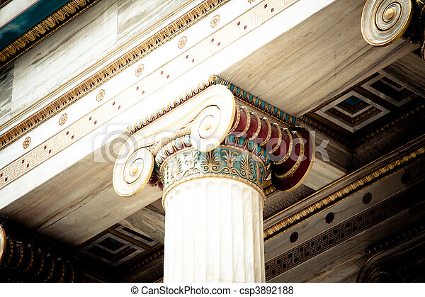 The Academy of Athens - csp3892188