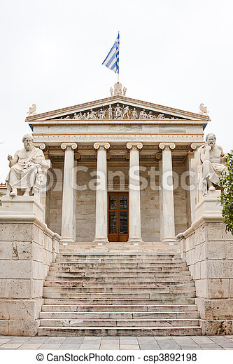 The Academy of Athens - csp3892198