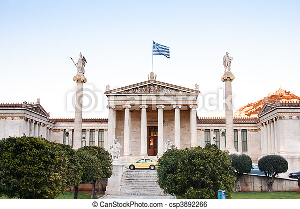 The Academy of Athens - csp3892266