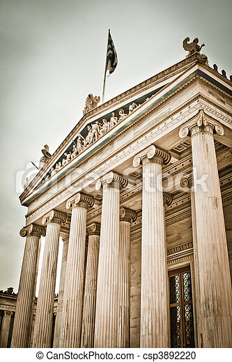 The Academy of Athens - csp3892220