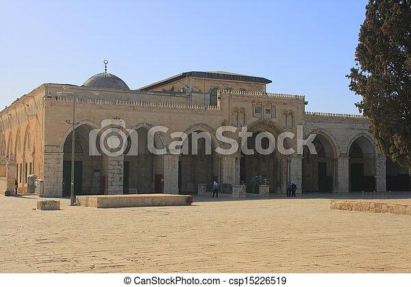 The al-Aqsa Mosque - csp15226519