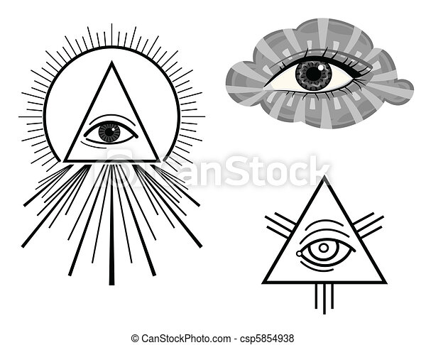 The All Seeing Eye - csp5854938