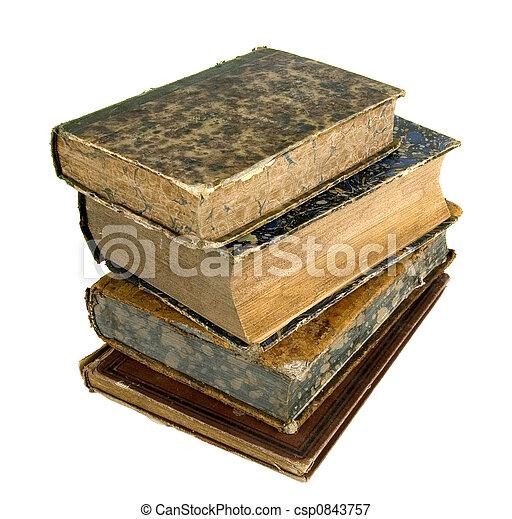 The ancient books - csp0843757