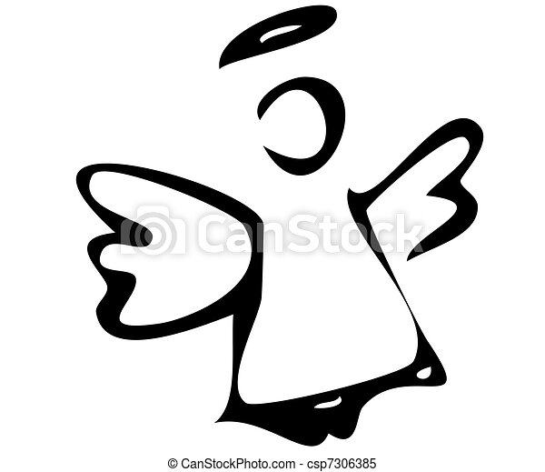 The angelthe angel for Angel clipart