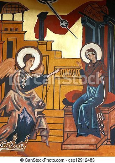 The Annunciation - csp12912483
