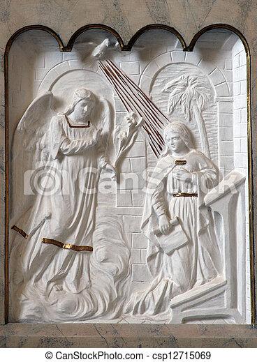 The Annunciation - csp12715069
