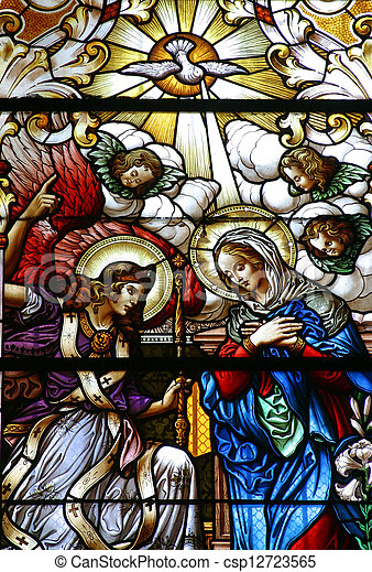 The Annunciation - csp12723565