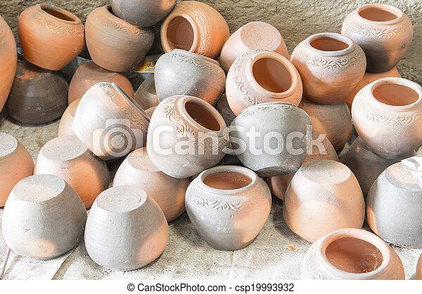 The antique pottery - csp19993932
